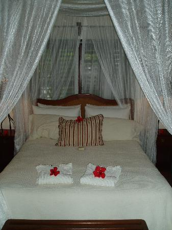 Victoria House Resort & Spa: Our plantation room upon arrival