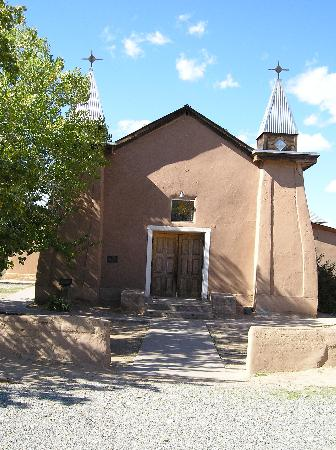Corrales, Nuevo Mexico: Old San Ysidro church