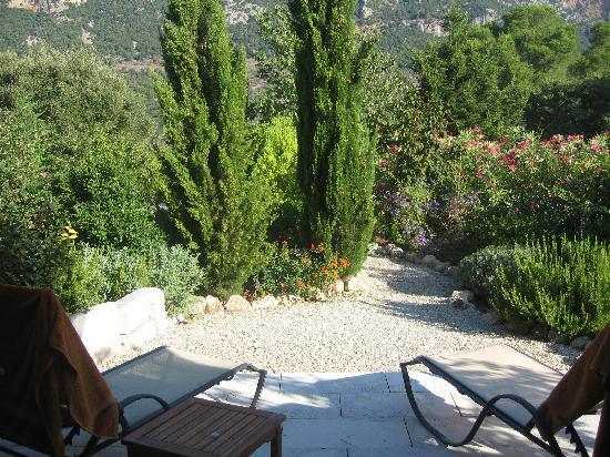 Finca Hotel Son Palou: Our terrace