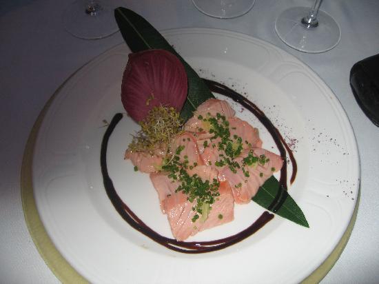 Finca Hotel Son Palou : Salmon Starter