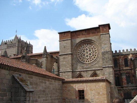 Avila, Spanyol: catedral