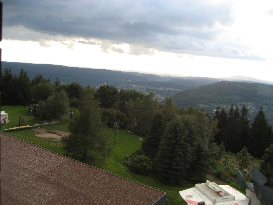 Hotel Ringberg: The view from my bedroom window