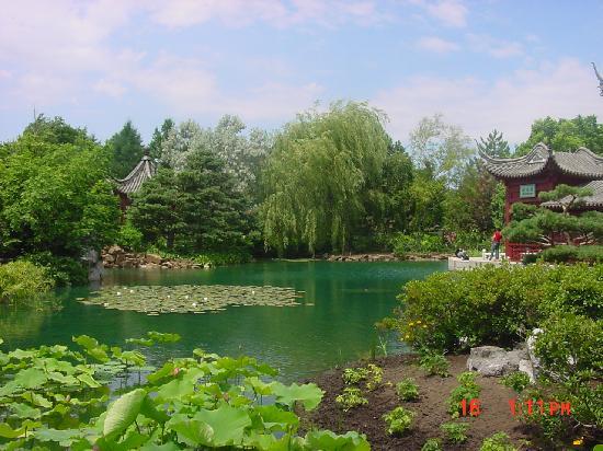 Montreal Botanical Gardens: Un lugar hermoso