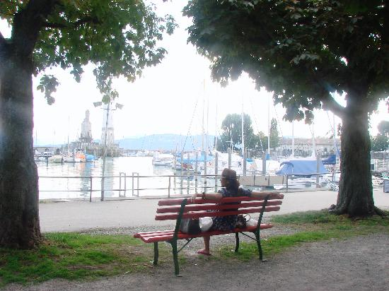 Lindauer Hof : Enjoying Lake Constance