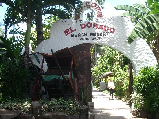 El Dorado Beach Resort : The entrance to the hotel