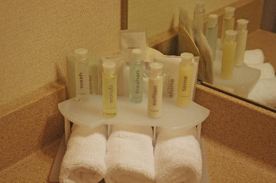 The Toiletries In The Bathroom Picture Of Holiday Inn