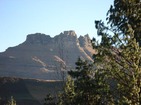 Underberg, Zuid-Afrika: where the resort got its name from