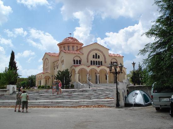 Monastery of Agios Gerasimos, Cephalonia. 2007