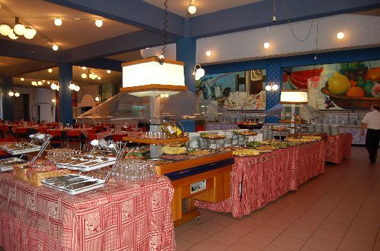 Hotel Club Costa Verde : Le buffet-restaurant