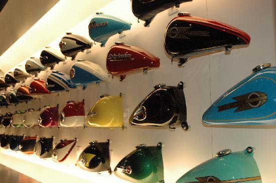 Harley-Davidson Museum: GAS TANKS