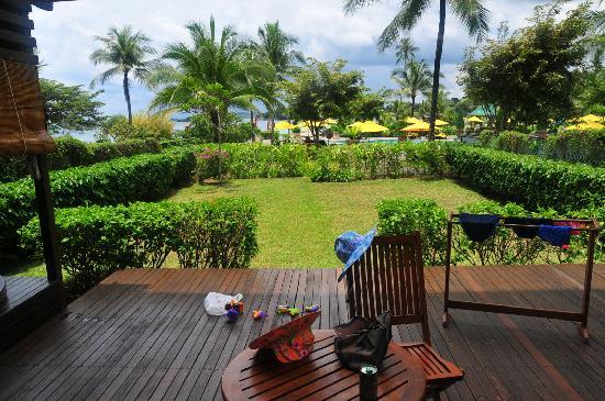 อังสนา บินตัน: Angsana Suite garden