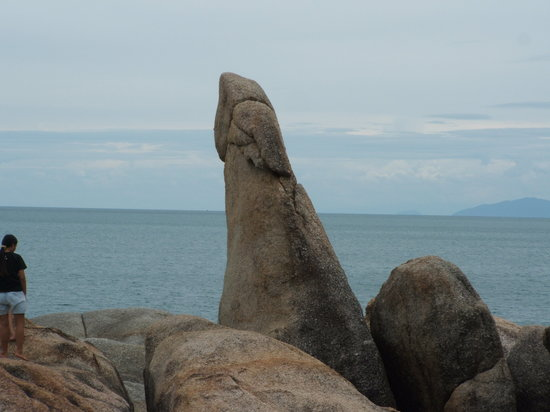 Grandmother and Grandfather Rocks (Hin Yai & Hin Ta): Hin Ta