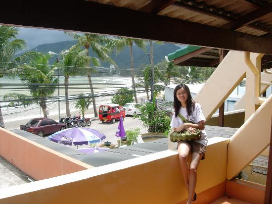 The Beach House : Balcony