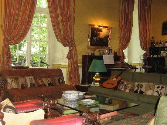 Château d'Ivoy: Il salotto per gli ospiti