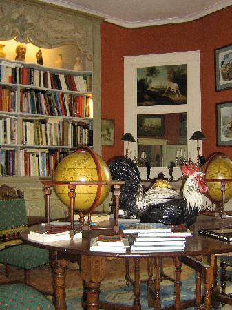 Château d'Ivoy: La biblioteca