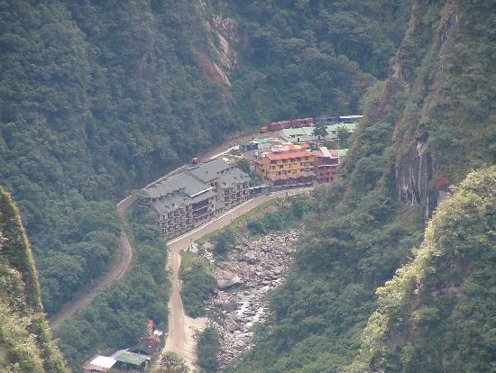 Santuario Hotel: View from Machu Piccu
