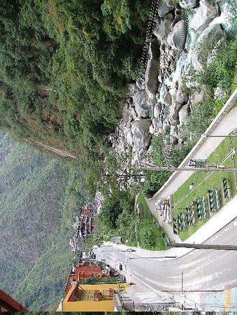 Santuario Hotel: View from the balcony