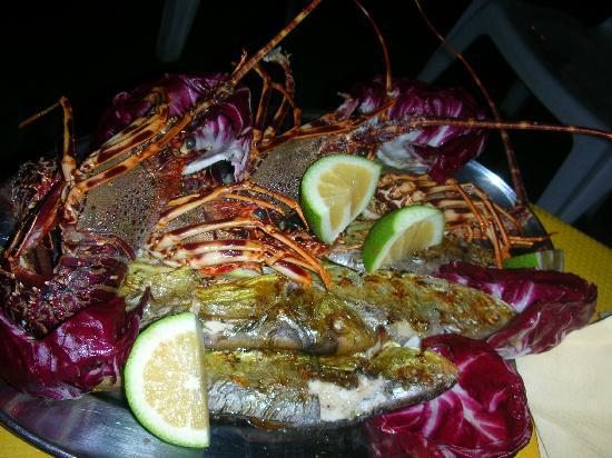 Villa Sogno Charme e Relax Selinunte: langoustini - finger liking food