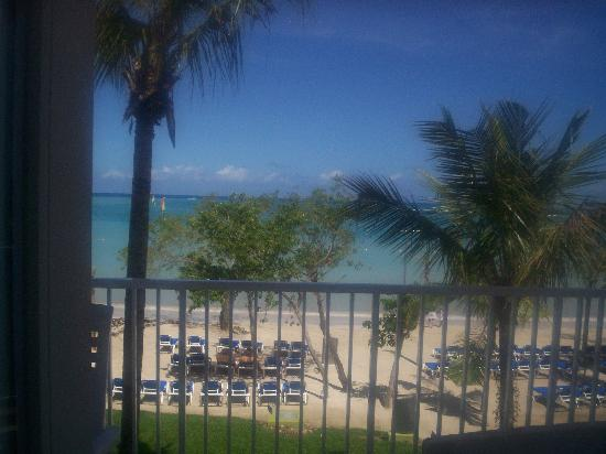 Hotel Riu Montego Bay: View from my balcony
