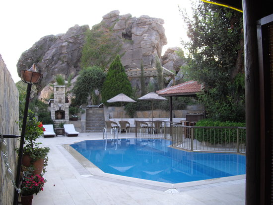 Aegean Gate Hotel: Pool side