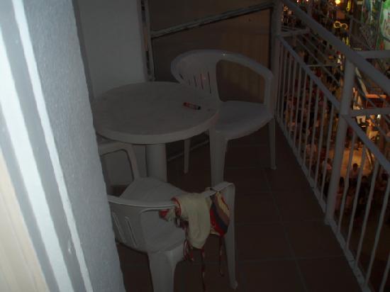Residencial Bristol Hotel: balconey