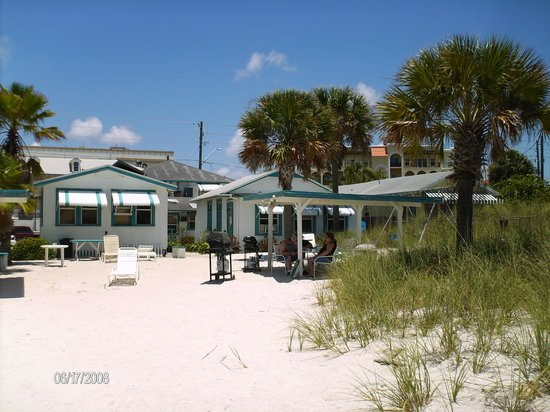 Seahorse Cottages: seahorse from the beach