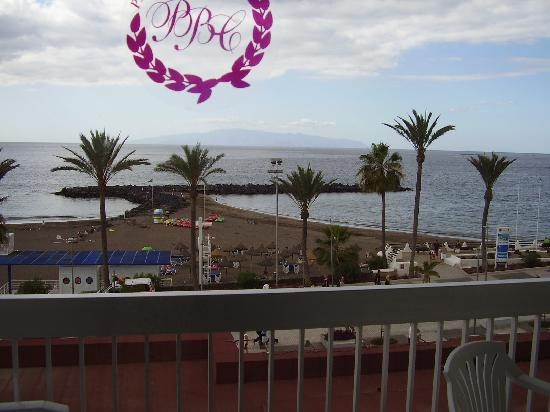 Palm Beach Tenerife: view from the balcony