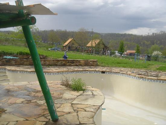 Cuz's Cabins and Resort: view from pool