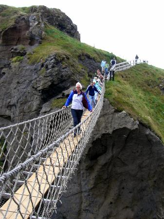 Northern Ireland, UK: Carrick-a-Rede rope bridge
