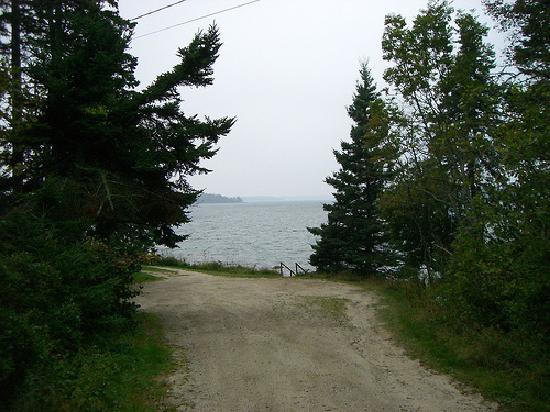 The Maine Hideaway: Walk down to Naskeag Point
