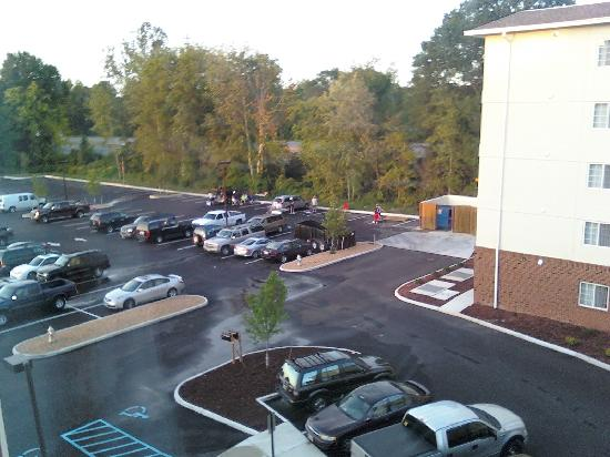 Comfort Suites Glen Allen: View from hotel room