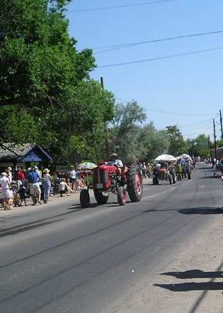 Corrales, Nuevo Mexico: 4th of July parade