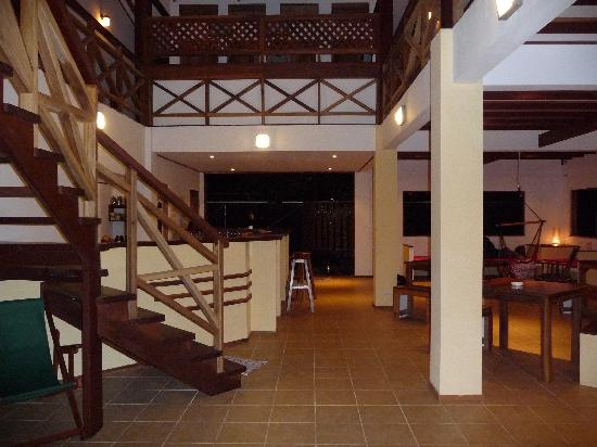 Pagalu Hostel: The lounge area