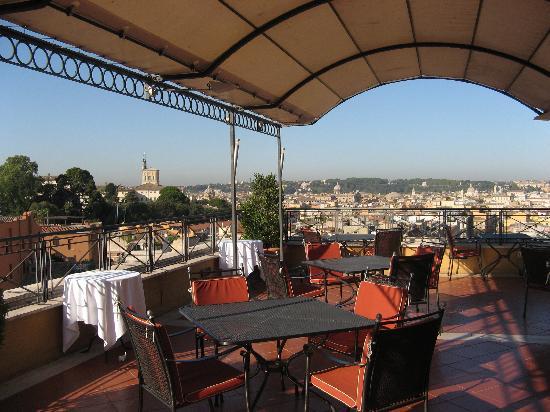 Sina Bernini Bristol: Rooftop Terrace