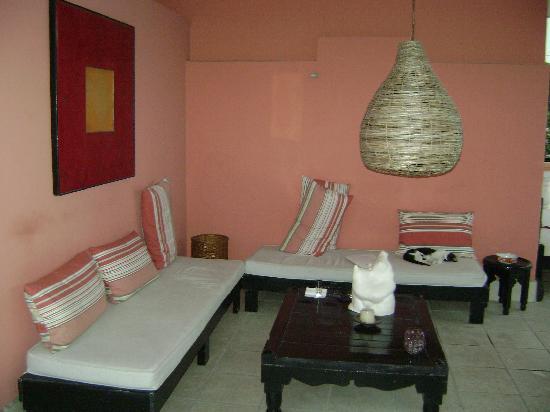 Hotel Julamis : Terrace