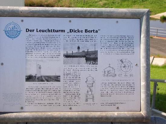 Otterndorf, Germany: Beschreibung Leuchtturm