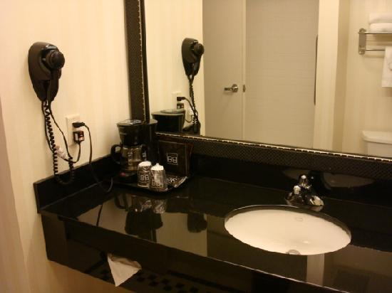 Fairfield Inn & Suites Omaha Downtown: Sink
