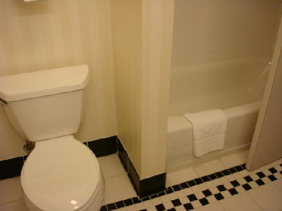 Fairfield Inn & Suites Omaha Downtown: Toilet and Shower