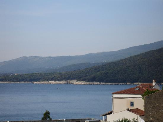 Hotel Amfora: view rabac