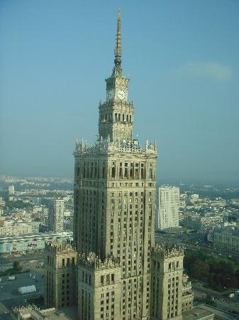 InterContinental Hotel Warsaw: view from my room window