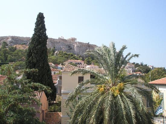 Adrian Hotel: Una de las vistas desde la terraza de desayuno del Hotel