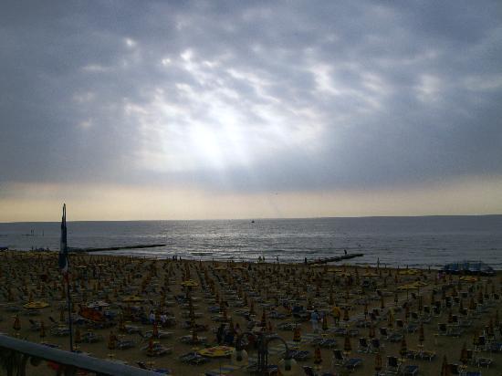 Hotel Solemare: Sonnenaufgang über dem Meer
