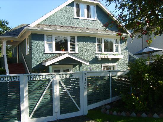 Vancouver Traveller Bed and Breakfast: The House