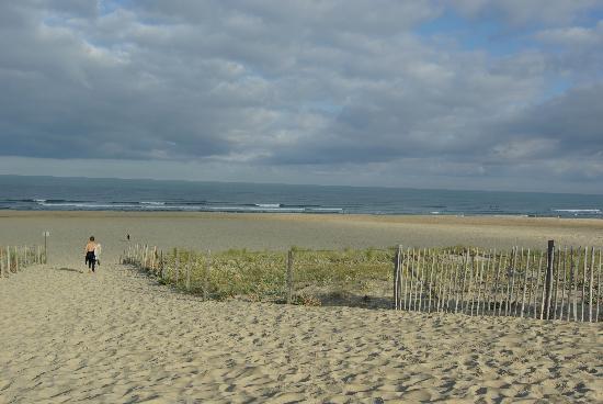 Moliets et Maa, France: Beach access