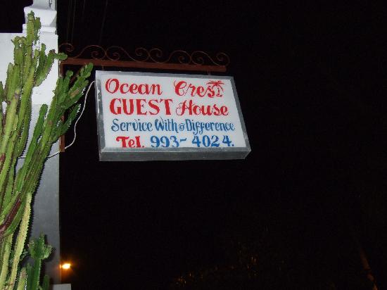 Ocean Crest Guest House: WE LOVED IT HERE!