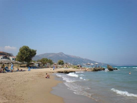 Argassi, Greece: Plaka Beach (Image doesnt do it justice)