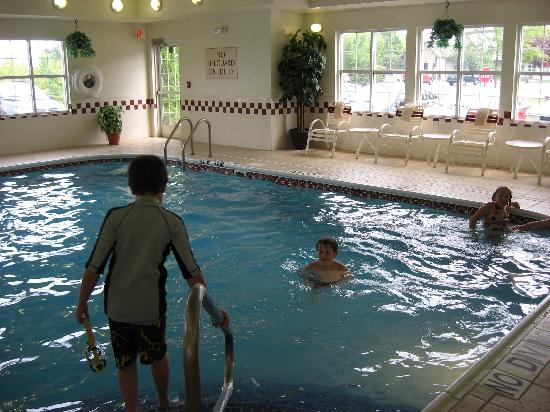 Exton, Pensilvania: The indoor pool