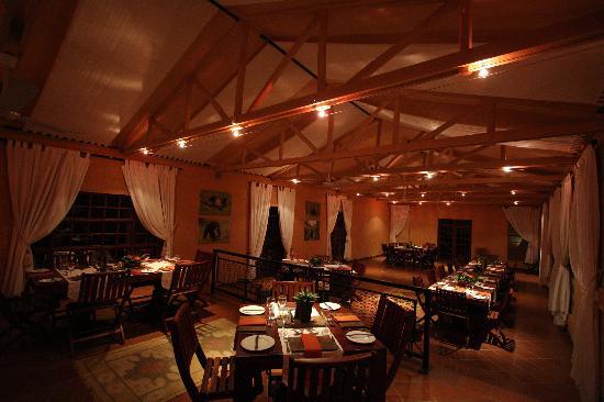 Chimp Eden Boutique Hotel: Restaurant