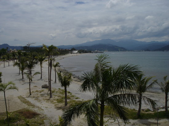 Subic Bay Freeport Zone, Filipiny: Balcony View