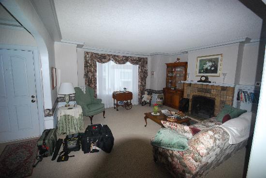 Ocean Beach Bed and Breakfast : Living room